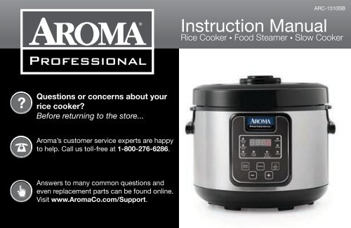 How to cook rice in aroma professional cooker