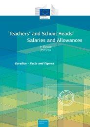 Teachers' and School Heads' Salaries and Allowances
