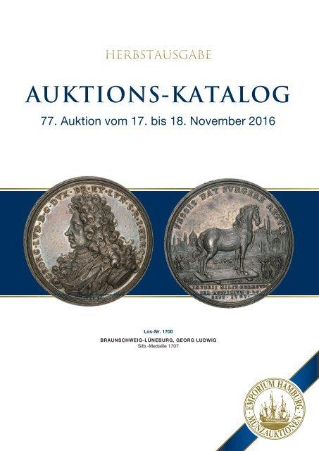 77. Auktion - Münzen & Medaillen - Emporium Hamburg