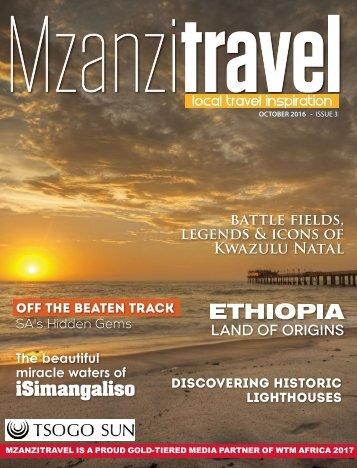MZANZI TRAVEL  - ISSUE 3