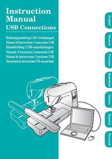 Service instruction connecting hose hansgrohe brother pe 700ii750dusb instruction manual for usb connections sciox Images