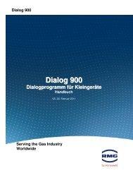 Dialog 900 Dialogprogramm für Kleingeräte Handbuch