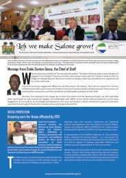 Leh we make Salone grow issue 2