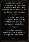 Design Uniformes para Restaurantes - Page 3