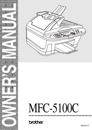 Brother MFC-5100C - User's Guide