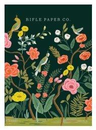 Catalog Rifle Paper Co. Summer 2016