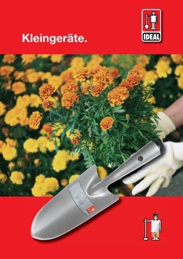 Kleingeraete.indd, page 2 @ Preflight - Idealspaten