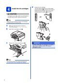 Brother MFC-J825DW - Quick Setup Guide - Page 6