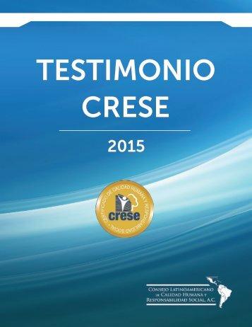 TESTIMONIO CRESE