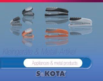 Kleingeräte & Metall-Artikel