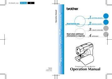 gs 2500 gs 2700 gs 3700 brother international rh yumpu com Yamaha CS 8 0 Manual Synthesizer Yamaha CS 8.0