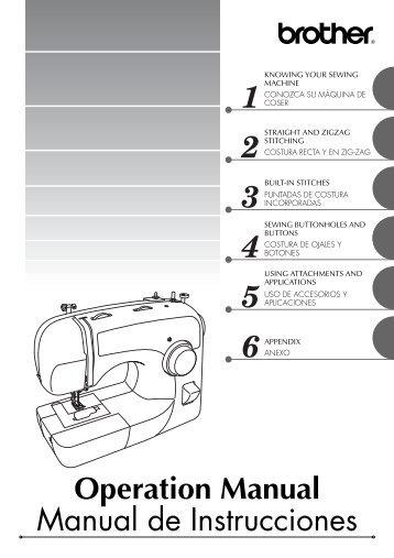 Materiales ‣ Lana De C Fascinating Brother Xl 3600 Sewing Machine Manual