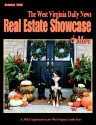 The West Virginia Daily News Real Estate Showcase & More