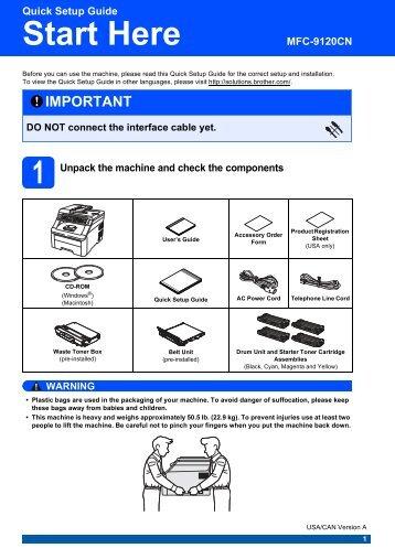 quick setup guide english brother rh yumpu com brother quick setup guide mfc l2740dw brother quick setup guide mfc l2740dw