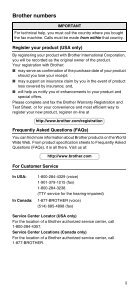 Brother FAX-575/FAX-575e - User's Guide - Page 3
