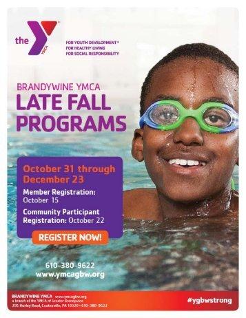 Brandywine YMCA - Late Fall Programs