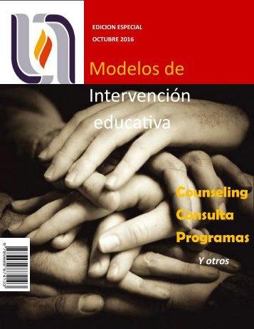 modelos de intervención educativa
