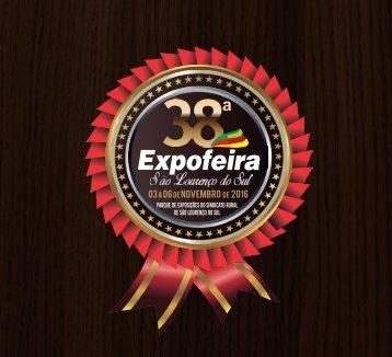 Catálogo 38ª Expofeira de São Lourenço do Sul