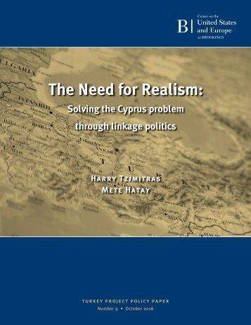 The Need for Realism