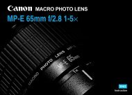 Canon MP-E 65mm f/2.8 1-5x Macro Photo - MP-E 65mm f/2.8 1-5× Instruction Manual