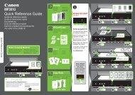 Canon imageCLASS MF3010 - MF3010 Quick Reference Guide