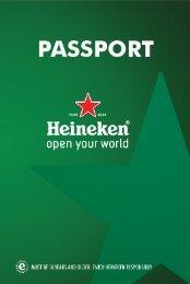 HEINEKEN PASSPORT Mock Up