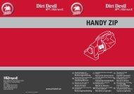 Dirt Devil Dirt Devil Handheld vacuum cleaner - M3110 - Manual (Multilingue)