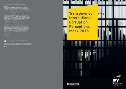Transparency International Corruption Perceptions Index 2015