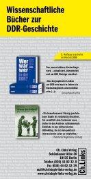 Ebenfalls im Ch. Links Verlag erschienen