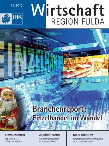 IHK Magazin Fulda 12/2012 - B4B MITTELHESSEN