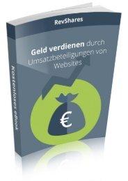 RevShares - Geld verdienen durch Umsatzbeteiligungen von Websites