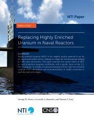 Replacing Highly Enriched Uranium in Naval Reactors