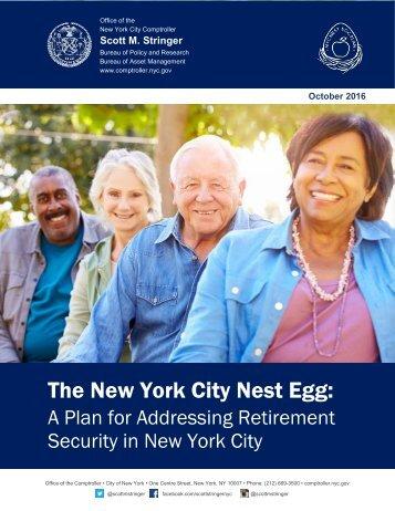 The New York City Nest Egg