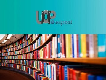 UOP E Assignments | Study Material For Phoenix University Final Examinations