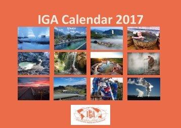 IGA Calendar 2017