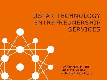 USTAR TECHNOLOGY ENTREPREUNERSHIP SERVICES