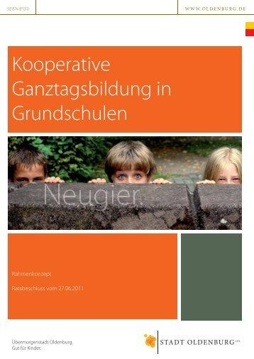 Oldenburger Rahmenkonzept kooperativer Ganztagsbildung - KiB