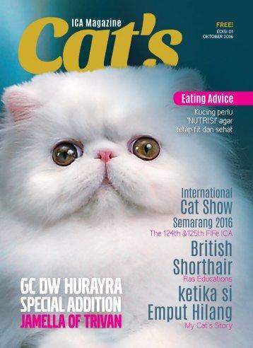 Cat's Magazine Edisi1 Oktober 2016