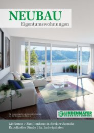 design by marcus treuter apartment house at lake of constance Investor Lindenmayer GmbH company