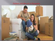 Tips on Hiring a Reliable Packer and Mover in Bangalore