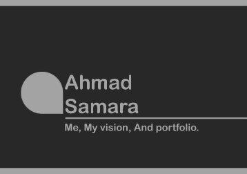 Ahmad Samara - Portfolio