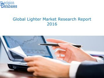 Global Lighter Market Research Report 2016