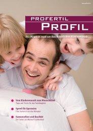 Das Magazin rund um den männlichen Kinderwunsch - PROfertil