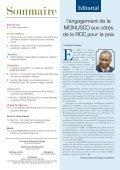 La Paix fondement d'un développement durable - Page 2