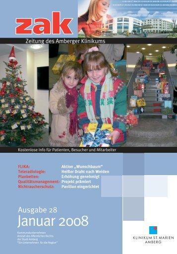 Ausgabe Januar 2008 - Klinikum St. Marien Amberg