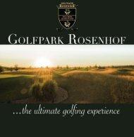 Golfpark Rosenhof - The Ultimate Golfing Experience