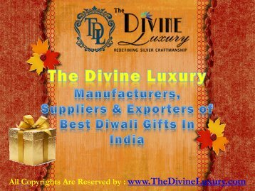 Diwali Gifts - Manufacturers, Bulk Suppliers & Exporters of Diwali Gifts
