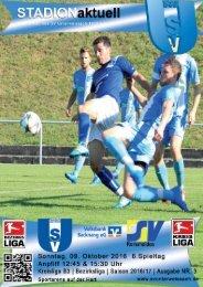 SV Unterweissach - SV Remshalden  & SV Unterweissach II - SV Remshalden II