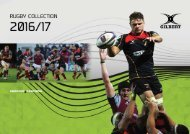 Gilbert Rugby Catalogue 2016 /17