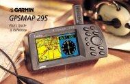 Garmin GPSMAP 295 - Pilot's Guide